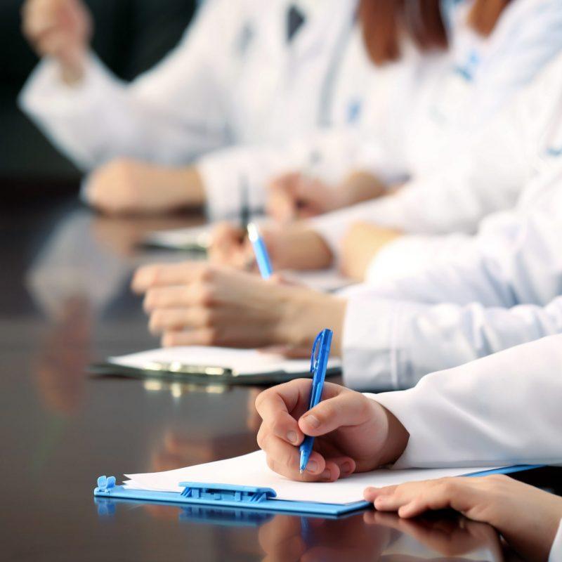 Szkolenie dla pracowników medycznych.